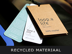 recycled materiaal
